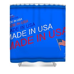 Made In Usa Shower Curtain