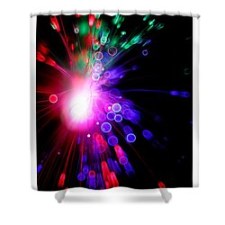 Magic Lights Shower Curtain