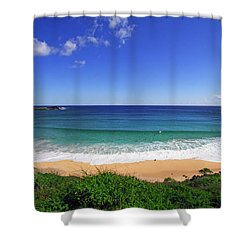 Makapuu Beach Shower Curtain by Kevin Smith