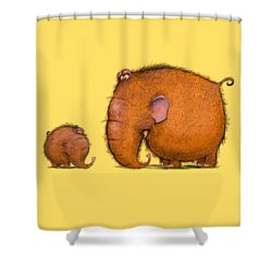 Mammothz Shower Curtain