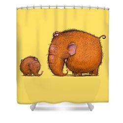 Mammothz Shower Curtain