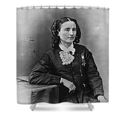 Mary Edwards Walker Shower Curtain by Granger
