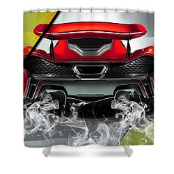 Mclaren P1 Collection Shower Curtain