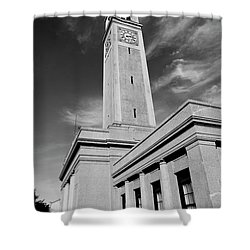 Memorial Tower - Lsu Bw Shower Curtain