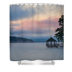 Meredith New Hampshire Shower Curtain