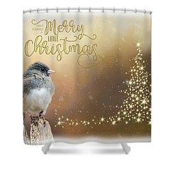Merry Christmas Shower Curtain