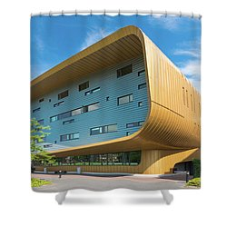 Modern Building Shower Curtain by Hans Engbers