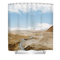 Shower Curtain featuring the photograph Mount Everest by Setsiri Silapasuwanchai