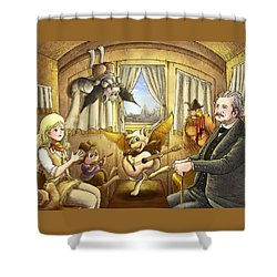 Ned Buntline Shower Curtain