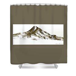 Mt. Hood Shower Curtain by Steve Warnstaff