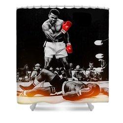 Muhammad Ali Art Shower Curtain