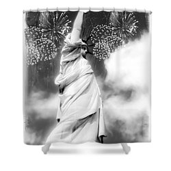 My Lady Liberty Shower Curtain
