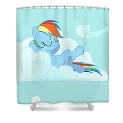 My Little Pony Friendship Is Magic Shower Curtain