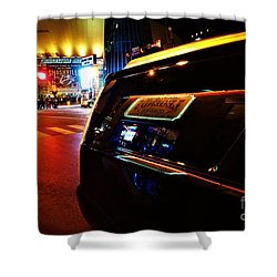 Nashville Night Shower Curtain