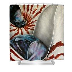 2 Nautilus Shower Curtain
