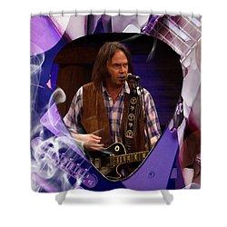 Neil Young Art Shower Curtain