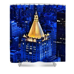 New York Life Building Shower Curtain