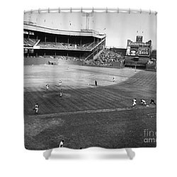 New York: Polo Grounds Shower Curtain by Granger
