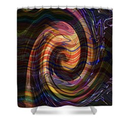Novino Golden Shades Dramatic Waves Abstract Graphic Artwork By Navinjoshi  Buy Posters Greetings Pi Shower Curtain