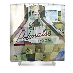 Nye's Polonaise Room Shower Curtain