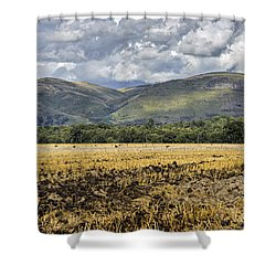 Ochil Hills Shower Curtain