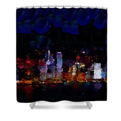 One Night In Hong Kong.. Shower Curtain