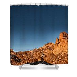 Organ Mountans At Sunrise-2 Shower Curtain