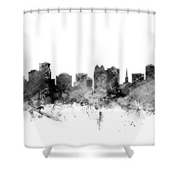 Orlando Florida Skyline Shower Curtain