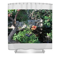Peace And Serenity Shower Curtain