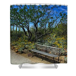Peaceful Moment Shower Curtain by Elaine Malott