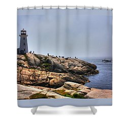 Peggys Cove  Shower Curtain