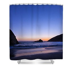 Pfeiffer Beach Shower Curtain