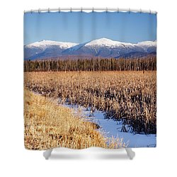 Pondicherry Wildlife Refuge - Jefferson New Hampshire Shower Curtain