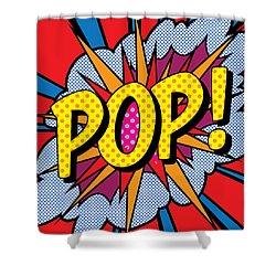 Pop Art - 4 Shower Curtain