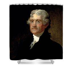 President Thomas Jefferson  Shower Curtain