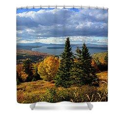 Rangeley Overlook Shower Curtain