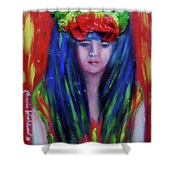 Rasta Girl Shower Curtain