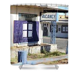 Remnants Of Vintage Vegas Shower Curtain