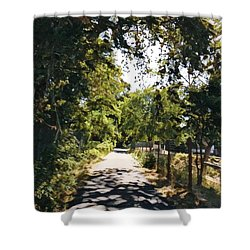 Riverside Park Shower Curtain