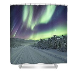 Road View Shower Curtain