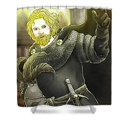 Robin Hood Baron Fitzwalter Shower Curtain