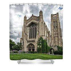 Rockefeller Chapel Chicago Shower Curtain