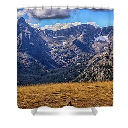 Rocky Mountain National Park Colorado Shower Curtain