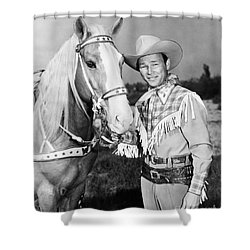 Roy Rogers Shower Curtain by Granger