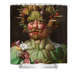 Rudolf II Of Habsburg As Vertumnus Shower Curtain