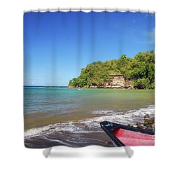 Shower Curtain featuring the photograph Saint Lucia by Gary Wonning