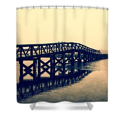 Sandwich Boardwalk Shower Curtain