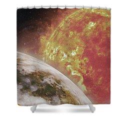 Sci Fi Shower Curtain