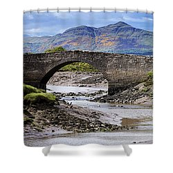 Shower Curtain featuring the photograph Scottish Scenery by Jeremy Lavender Photography