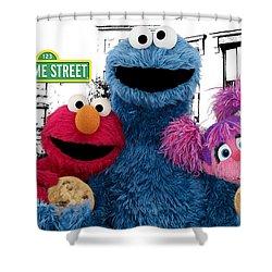 Sesame Street Shower Curtain